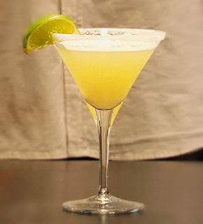 Margarita con ron coco