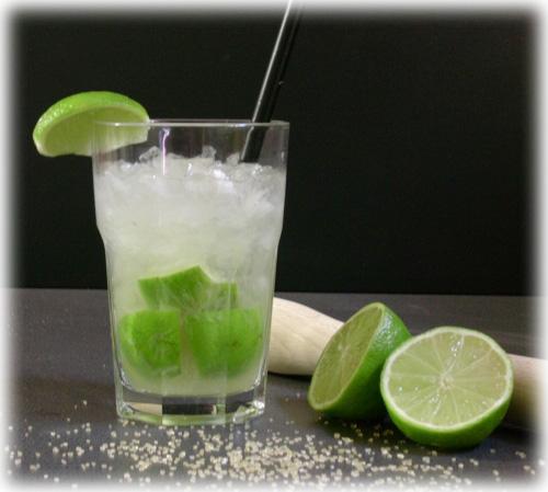 Como preparar el coctel Caipiroska