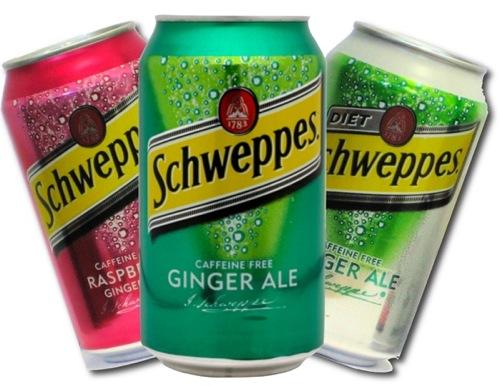 Ginger ale de Schweppes