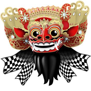 Barong en Bali